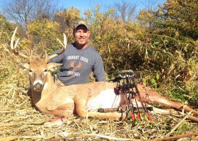 Shuhart Creek Whitetail Customer Deer Kill